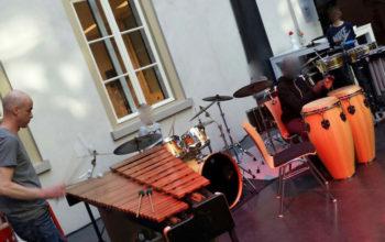 presentatie drummen